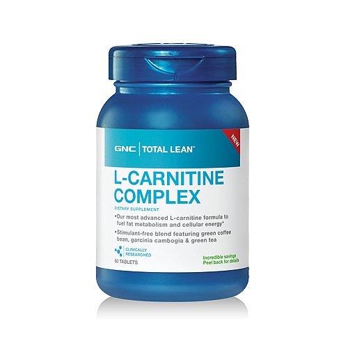 GNC Total Lean L-Carnitine Complex 60 Tablets