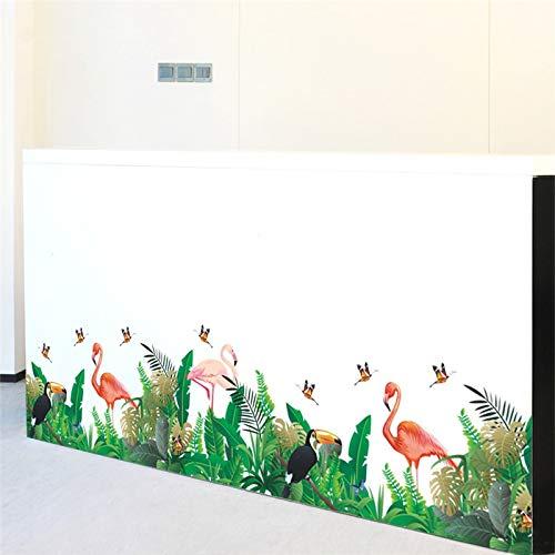 Pegatina Zocalo Flamencos Modelo 4 Diseño Cool Terrazas