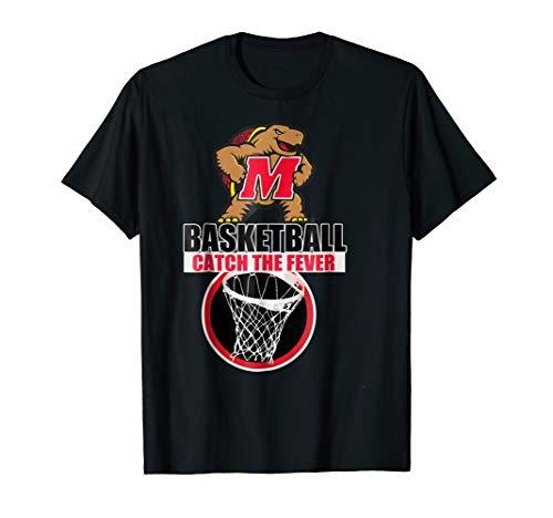 Maryland Terps Basketball - Maryland Terrapins University Of Basketball T-Shirt