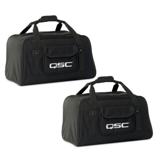 Qsc K12 Carry Travel Tote Bag For K 12  Active Speaker Pair