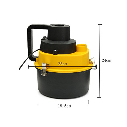 12V Wet Dry Vac Vacuum Cleaner Inflator Portable Turbo Hand Held for Car or Shop by unbranded