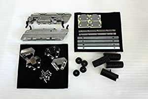 Saddlebags Mounting Hardware Set for Harley-Davidson 1994-2013 FLT, FLHT, FLHTCU, FLHRC, Road King, Street Glide, Electra Glide, Ultra-Classic and ALL touring bags (short or extended)