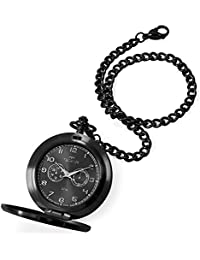 Relógio de Bolso Technos Clássico Heritage Preto VD77AB/4P