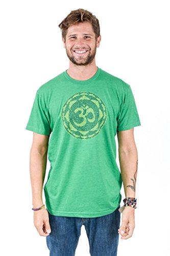 Think Positive Apparel Mens Om CVC Crew Neck T-Shirt |XXL