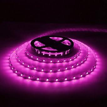 Amazon pink 164ft 5m flexible led strip lights 12v 300leds pink 164ft 5m flexible led strip lights 12v 300ledspc 3528 aloadofball Images