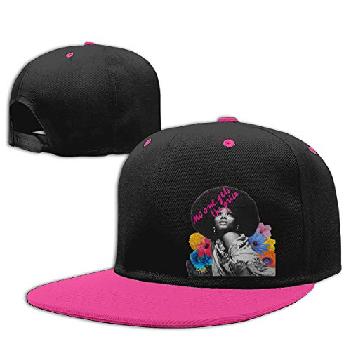 LEILEer Diana Ross No One Gets The Prize Unisex Contrast Hip Hop Baseball Cap Pink -