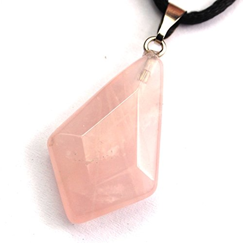 Quartz Gem Faceted Diamond - 1