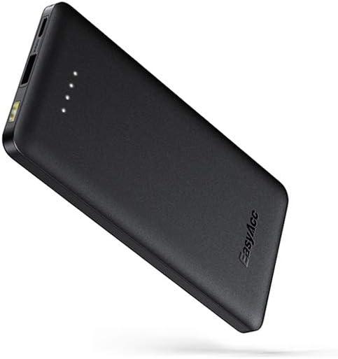Power Bank USB C EasyAcc Cargador Portátil de 10000mAh Batería de 5V 3A Entrada y Salida Tipo C, Funciona para iPhone, Samsung S10 / S8 / S9 y Más: Amazon.es: Electrónica