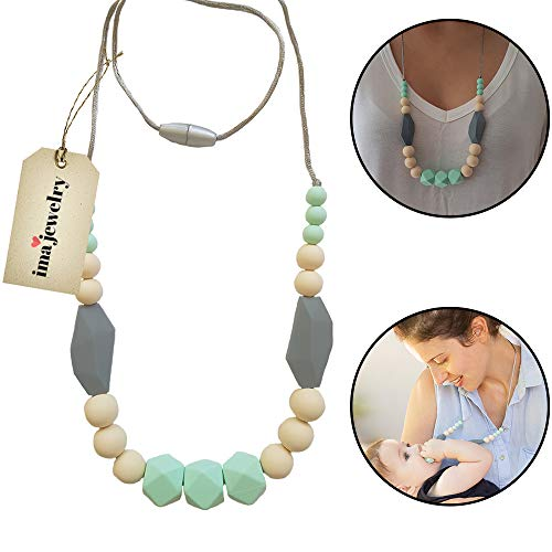 Teething Necklace Mom Wear Silicone product image
