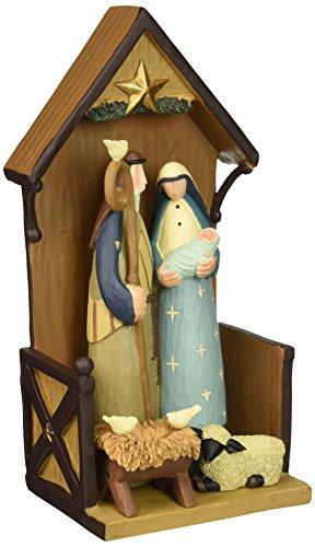 Williraye Most Peaceful Night Table Top Nativity Figurines