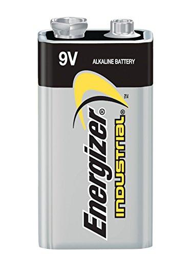 Alkaline 9v Battery 12 Count Energizer Industrial 9 Volt Batteries ...