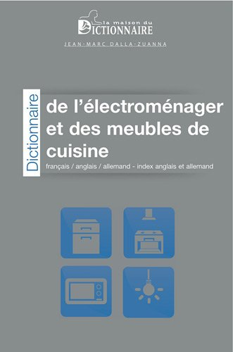 Amazon In Buy Dictionnaire De L Electromenager Et Des Meubles De