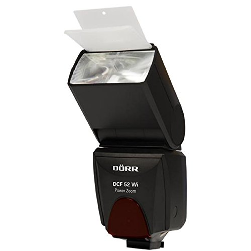 Dörr 371074 DCF-52 Wi Digital Power Zoom Systemblitzgerät für Olympus/Panasonic Kamera