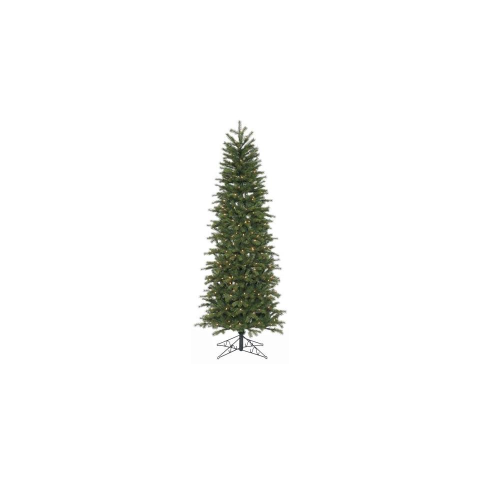 Vickerman E87517   X 7.5 Prelit Slim Redwood Artificial Christmas Tree