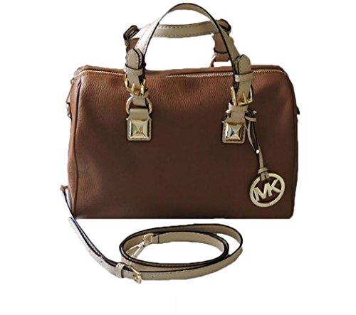 michael-kors-grayson-medium-brown-leather-satchel