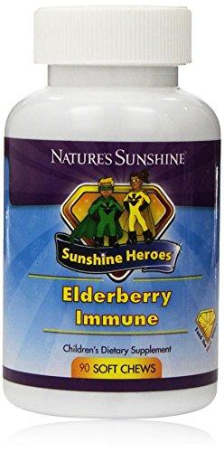 Elderberry Defense - Nature's Sunshine Elderberry Immune Soft Chews, 90 Count