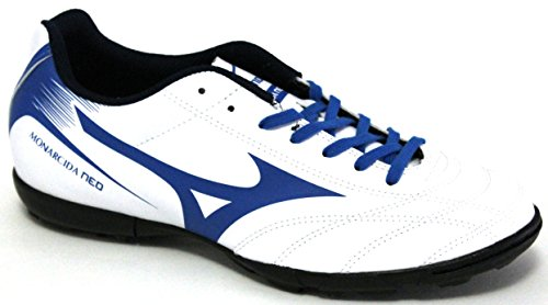 Mizuno Monarcida Neo As, Zapatillas de Fútbol para Hombre Multicolor (White/directoireblue)