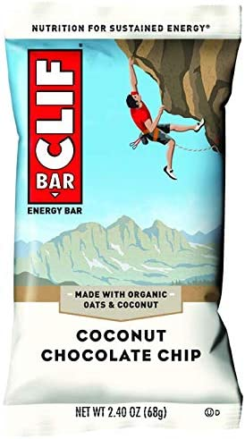 Clif, Bar Coconut Chocolate Chip, 2.4 Ounce, 12 Pack