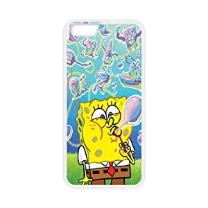 iPhone 6 4.7 Inch Cell Phone Case White Sponge Bob WQ7519945