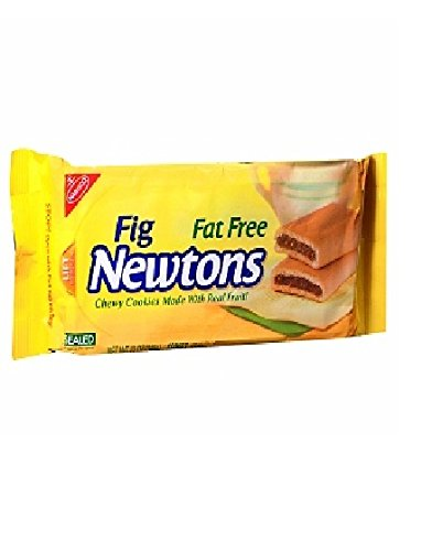 Nabisco, Fig Newtons, Fat Free, 12oz Bag (Pack of 6)