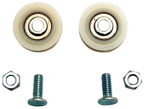 Prime-Line D 1504 Sliding Door Roller with Bolts, 1-1/4-Inch Nylon Ball Bearing, (Roller Slides)