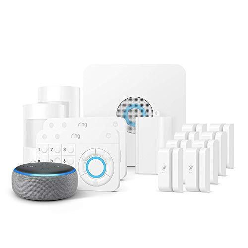 Ring Alarm 14 Piece Kit + Echo Dot