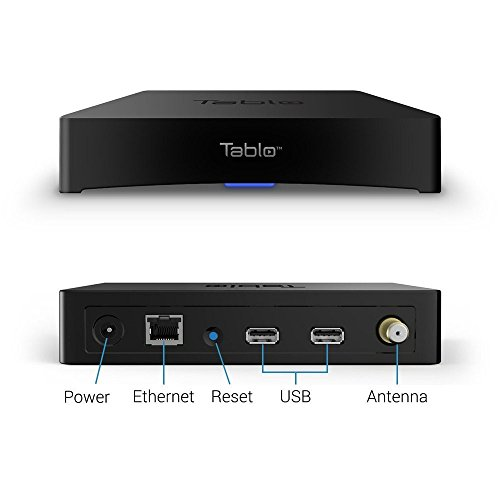 Tablo 4-Tuner Digital Video Recorder [DVR] for Over-The-Air [OTA] HDTV with Wi-Fi for Live TV Streaming, 1 Year Manufacturer Warranty(Renewed) by Tablo (Image #3)