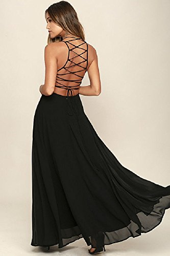 Homecoming Dresses, Cocktail Party Dresses, Black Chiffon Dresses 2018 at Amazon Womens Clothing store: