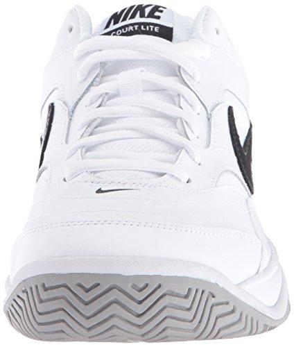 NIKE Men's Court Lite Tennis Shoe, White/Medium Grey/Black, 6.5 D(M) US by Nike (Image #4)