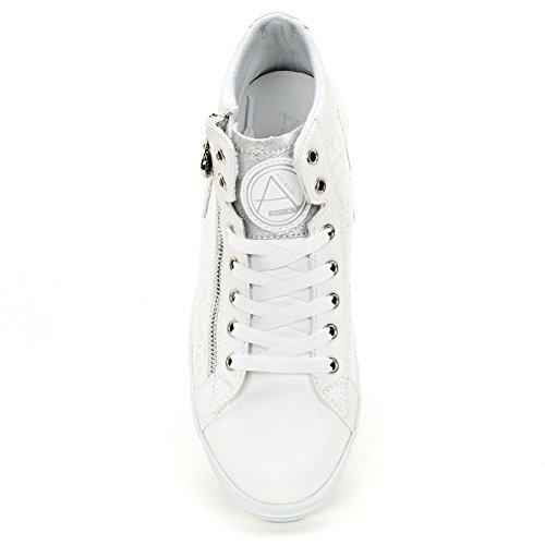 Sport Side Alesya Lace Sneakers Scarpe Zip With amp;Scarpe White vWaxTS
