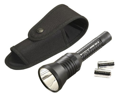 (Streamlight 88708 Super TAC X Flashlight with Holster - 200 Lumens)
