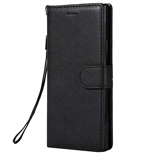 Sony Xperia XA1 Case, UNEXTATI Ultra-Thin Flip PU Leather Wallet Case with...