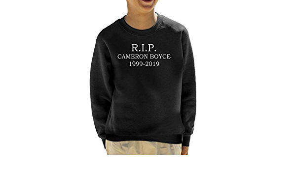 Rip Cameron Boyce 1999 2019 Kids Sweatshirt: Amazon.es: Ropa ...