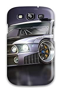Hot Design Premium JLFCZEL6384pQpEr Tpu Case Cover Galaxy S3 Protection Case(vehicles Car)