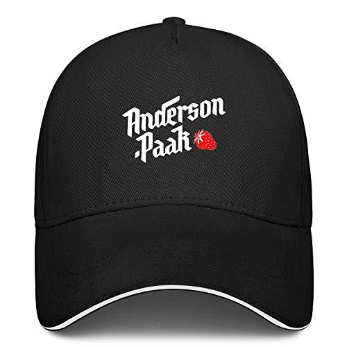 Anderson'Art'Paak Hat Baseball Cap Dad Cap Adjustable Ball Women Men Unisex