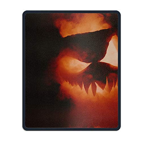 (Mouse Pad Mysterious Pumpkin Face Customized Non-Slip Rubber Mousepad Gaming Mouse Pad)