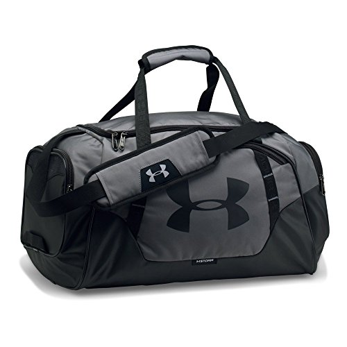 (Under Armour Undeniable Duffle 3.0 Gym Bag, Graphite (040)/Black,)