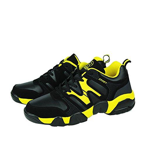Desklets Mens Winter Autumn Fashionable Sports Shoes Yellow