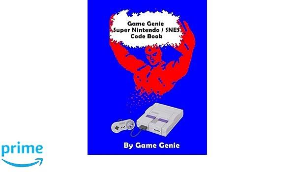 Game Genie Super Nintendo/SNES Code Book: Amazon.es: Game Genie: Libros en idiomas extranjeros