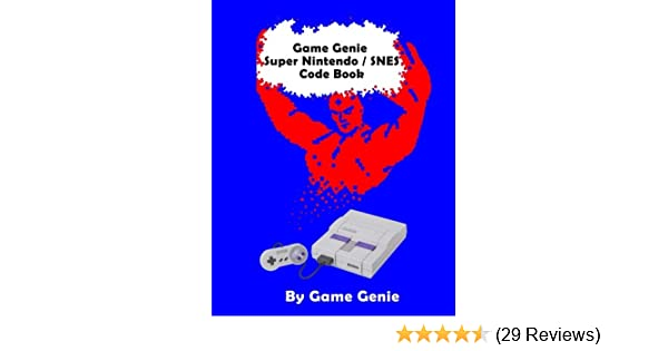 Game Genie Super Nintendo Snes Code Book Genie Game