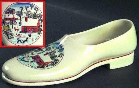 Villeroy & Boch Naif Christmas Shoe Boch Crystal