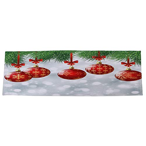 JPJ(TM) New ❤Home Carpets❤1Pcs Hot Fashion Merry Christmas Welcome Doormats Indoor Home Carpets Decor 40x120CM (I) by JPJ(TM) _Christmas products