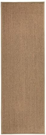 Ikea Osted – Alfombra, flatwoven, marrón – 80 x 240 cm