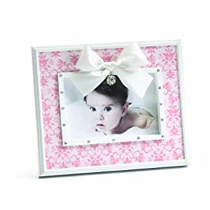 Nat and Jules Keepsake Frame, Bow and Rhinestone Ball