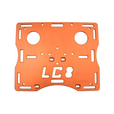 CJ Designs Trail Rack Orange - Fits: KTM 950 Adventure 2002-2006 by CJ Designs