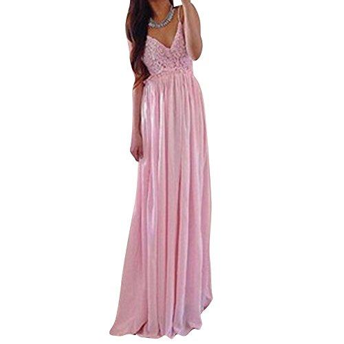 Pinkyee CLAK0234903 - Vestido Rosa