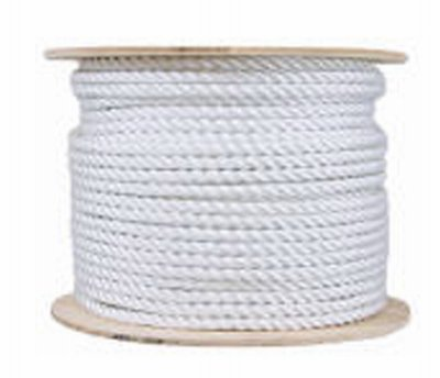 MIBRO Group The 644381 Twisted Cotton Rope 1//2x200 Cott