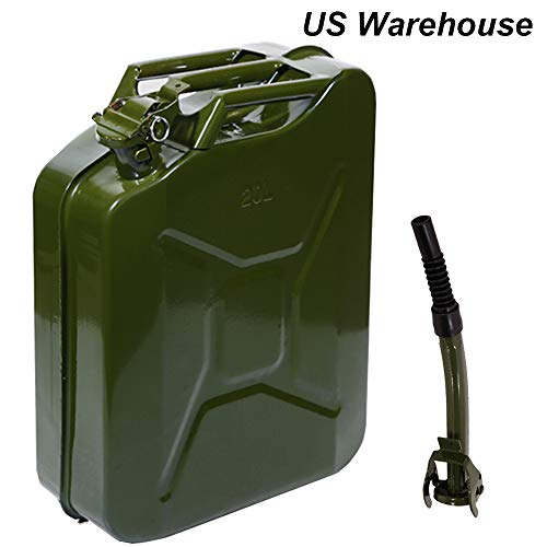 Mytunes 5 Gallon Metal Gas Can, 20l Portable Steel, used for sale  Delivered anywhere in USA