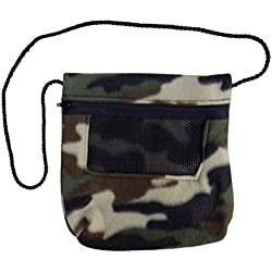 Bonding Carry Pouch for Sugar Gliders and other small pets (Camo)