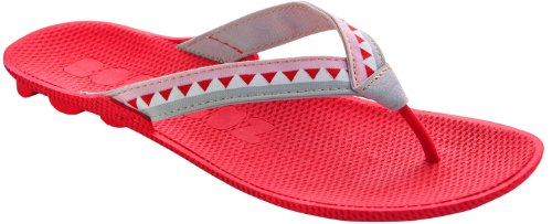 boombuz Women Lolla Half Dressed 100% Nature - biodigradable Organic Flip-Flops - Beach Sandals Berry Grey sSHTkrWu